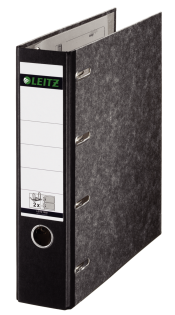 Leitz Double Mechanism Lever Arch File Classic Marbled. 80mm