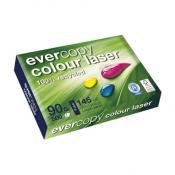 Evercolor - Voor laserafdrukkenUltrawit : CIE 145 en zeer glad : 120 Bekk210x297 - 90 g/m2pak van 500 blad