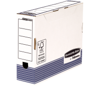 Bankers Box® System A4 transfer file white/blue 80 mm