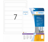 HERMA SPECIAL A4 Ordner labels movables/removable paper matt opaque 175 pcs.