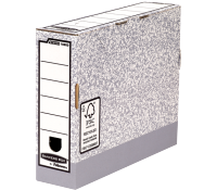Bankers Box® System transfer file A4 80 mm grey
