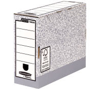 Bankers Box® System transfer file A4 100 mm grey