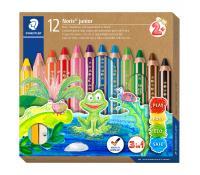 Staedtler Noris junior 140 - 3 in 1 kids' colouring pencil