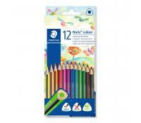 STAEDTLER Noris colour 187 triangular coloured pencil
