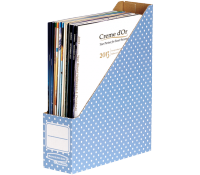 Bankers Box® Style magazine file blue/white 10 pk