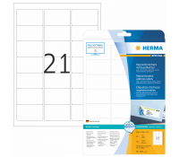 HERMA SPECIAL A4 Movable labels repositionalbe 63,5x38,1mm paper matt 525pcs.