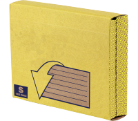Bankers Box® Missive Heavy Duty mailing pouch yellow S pk 10