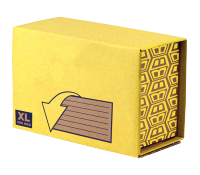 Bankers Box® Missive MPHD442721 Heavy Duty mailing box yellow XL pk 10
