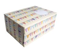 Bunting Flags Mailing Box 35 x 25 x16 cm