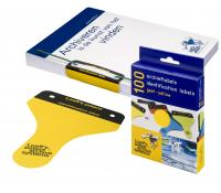 Loeffs FILING LABELS YELLOW 100 PK