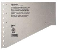 Leitz Dividers Cardboard. 11 rings. A4