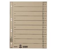 Leitz Dividers Cardboard. 2/4 rings. A4