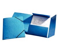 Esselte Rainbow 3-Flap Folder with elastic band