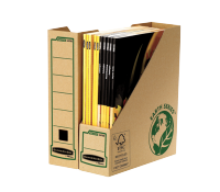Bankers Box® System Earth series A4 magazine file