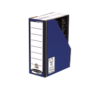 Bankers Box® Premium magazine file blue