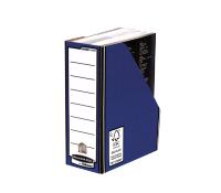 Bankers Box® Premium magazine file blue