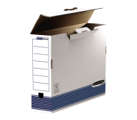 Bankers Box® System transfer file A3 white/blue 100 mm