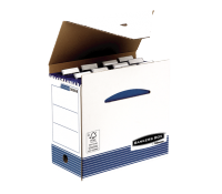 Bankers Box® System suspension file case white/blue