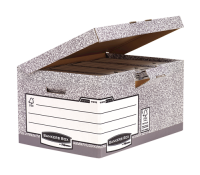 Bankers Box System Flip top maxi - Grey