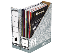 Bankers Box® System magazine file A4 80 mm grey