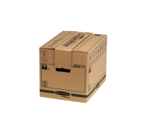 Bankers Box® SmoothMove™ Fastfold® removal box small brown