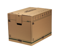 Bankers Box® SmoothMove™ Fastfold® removal box extra large brown