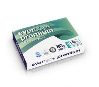 Evercopy Premium - Voor laser-en inkjetafdrukken.Ultrawit : CIE 145 - ISO 100210x297 - 80 g/m2pak van 500 blad