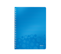 Leitz WOW Notebook; PP; A4; ruled