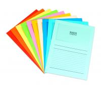 100 Elco Ordo Classico window folders with printed grid 10x10 colours