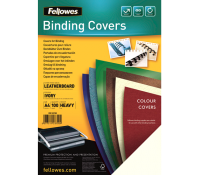 Fellowes leathergrain covers ivory A4