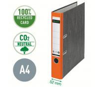 Leitz 180° Lever Arch File Classic Marbled, CO2 neutral, 100% recycled card