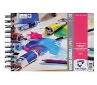Van Gogh Mix Media Papier A3, 300g, 30 pages, FSCM80